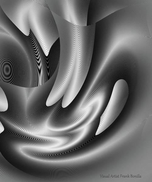 Digital Art - Bw Art 10 by Visual Artist Frank Bonilla