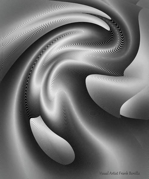 Digital Art - Bw Art 3 by Visual Artist Frank Bonilla