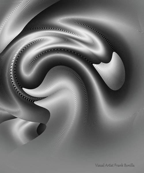 Digital Art - Bw Art 9 by Visual Artist Frank Bonilla