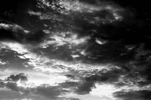 Photograph - Bw Sky by Eric Christopher Jackson