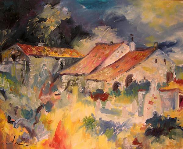 Painting - By Cati In El Maestrazgo by Miki De Goodaboom