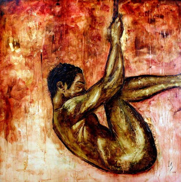 Wall Art - Mixed Media - By Gods Hand by Ivan Guaderrama