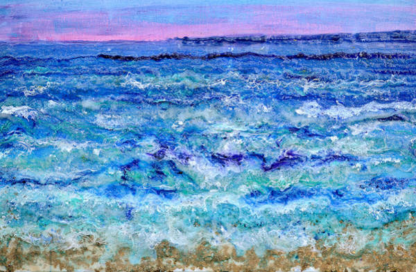 Painting - By The Beautiful Sea by Regina Valluzzi