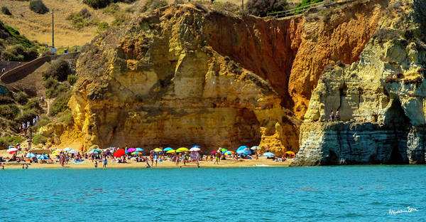 Wall Art - Photograph - The Algarve - Portugal by Madeline Ellis