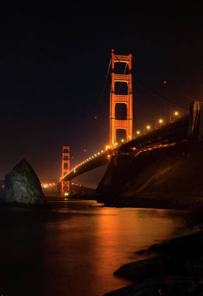 By The Golden Gate Art Print