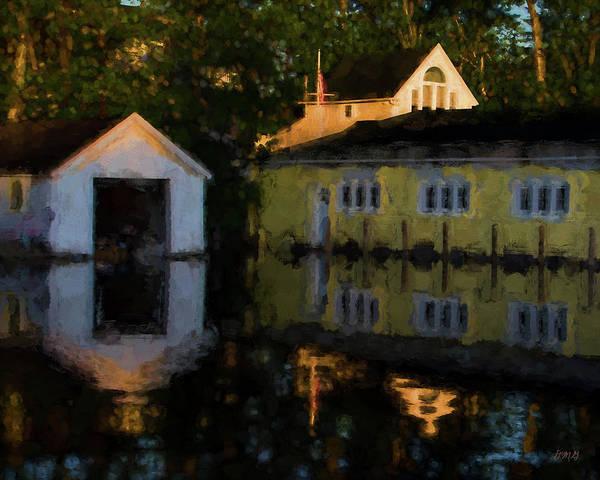 Photograph - By The Lake - Gilford Nh - Painterly by David Gordon
