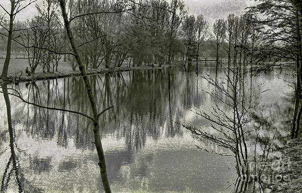 Photograph - By The Lake by Jeff Breiman