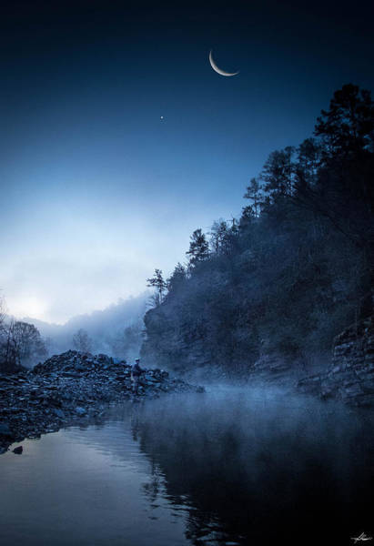 Photograph - By The Light Of The Moon by Philip Rispin