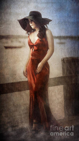 Digital Art - By The Misty Northport Sea by Alissa Beth Photography