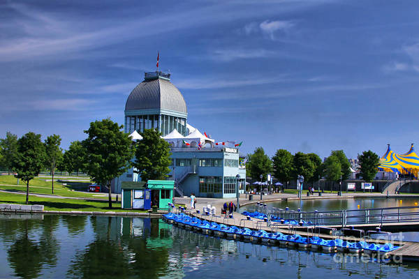 Photograph - By The Port Montreal by Deborah Benoit
