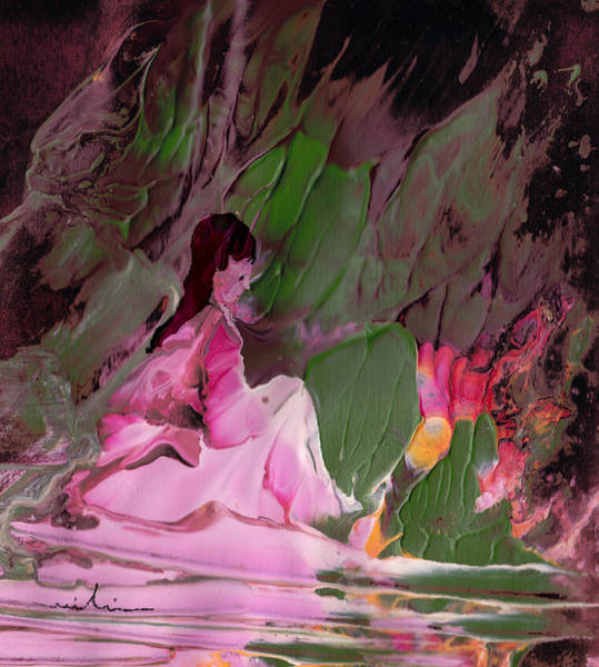 Painting - By The River Piedra I Sat Down And Wept by Miki De Goodaboom