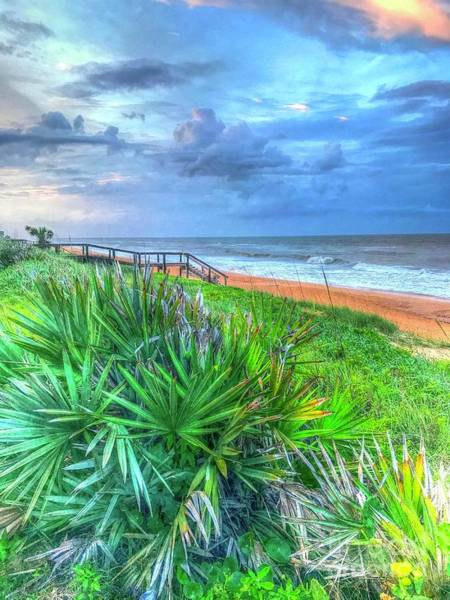 Flagler Beach Photograph - By The Sea by Debbi Granruth