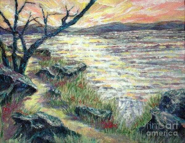 Painting - By The Sea by Gail Allen