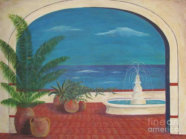 Painting - By The Sea by Jeanie Watson