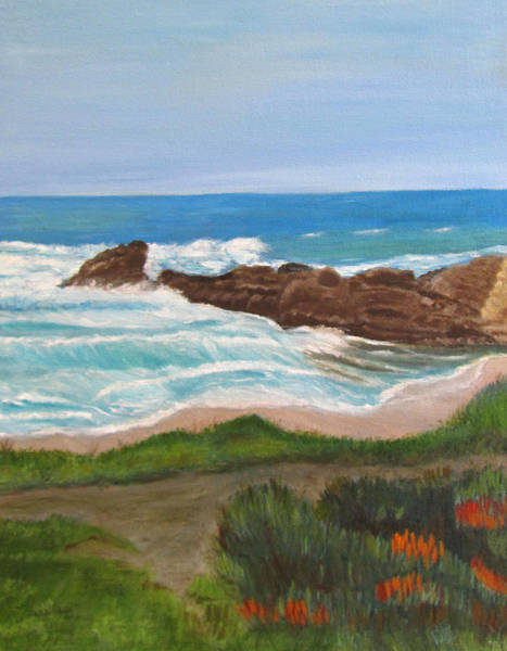 Painting - By The Sea by Linda Feinberg
