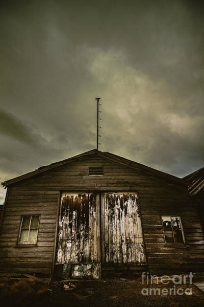Chalet Photograph - Bygone Farmstead  by Jorgo Photography - Wall Art Gallery