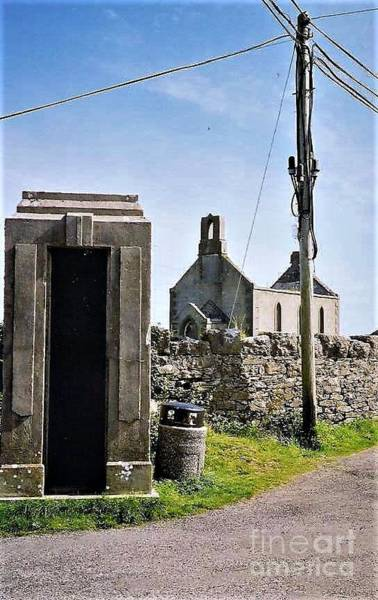 Photograph - Bygones On Inismore Aran by Val Byrne