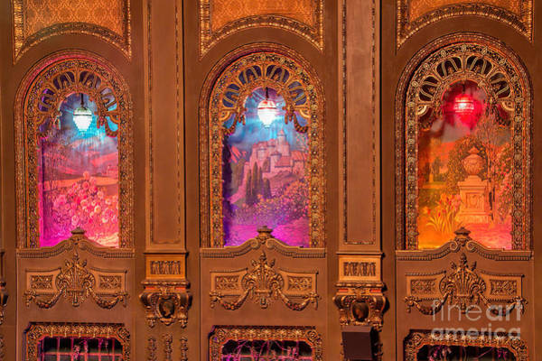 Photograph - Byrd Theater Alcoves by Jemmy Archer