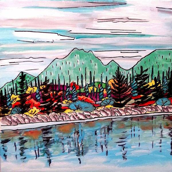 Painting - By The Shore by Nikki Dalton