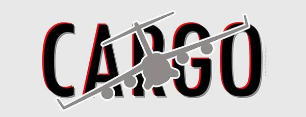 Dod Digital Art - C-17 Cargo by Clear II land Net