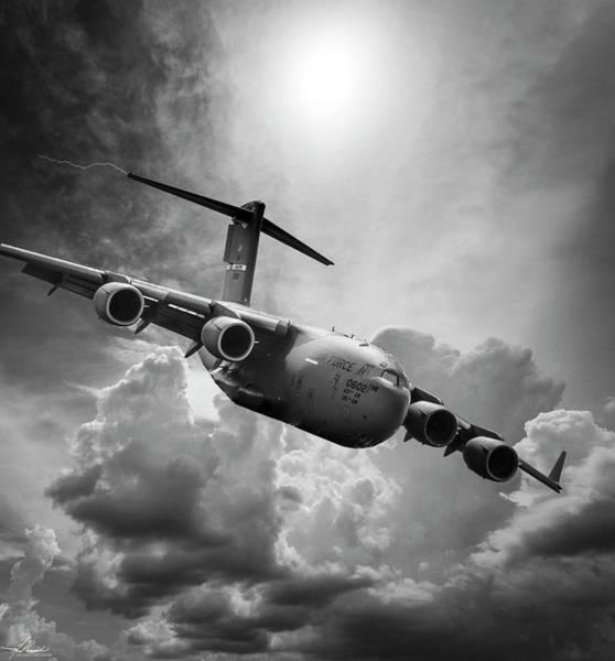 Photograph - C-17 Globemaster by Philip Rispin