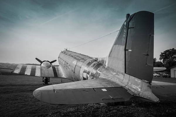 Photograph - C-47 Retired by Guy Whiteley