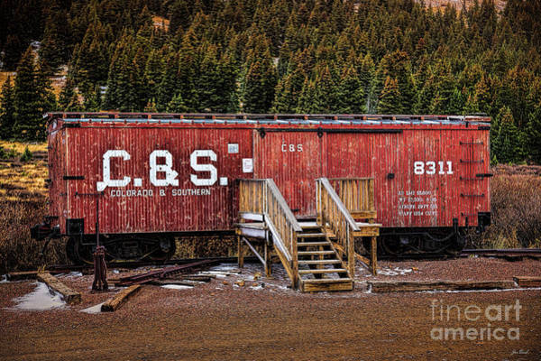 Photograph - C And S Railroad by Jon Burch Photography