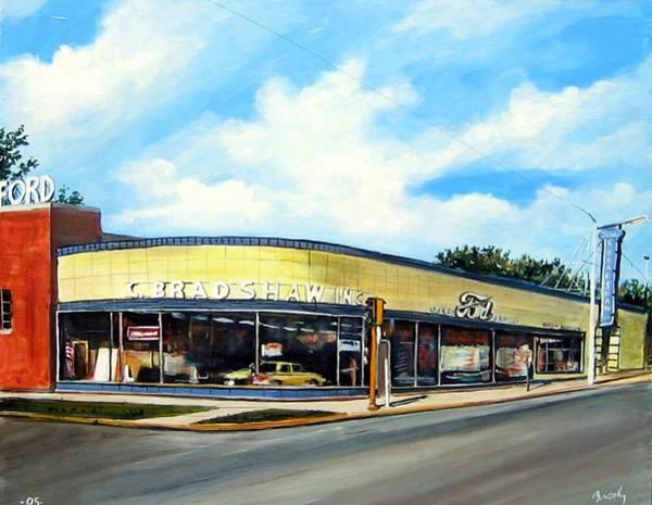 Painting - C Bradshaw by William Brody