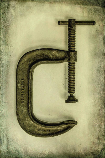 Wall Art - Photograph - C Clamp by Mike Burgquist