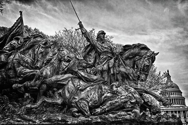 Photograph - C Memorial Detail No 17 by Val Black Russian Tourchin