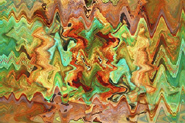 Digital Art - C7th-5th Fret by Matt Cegelis