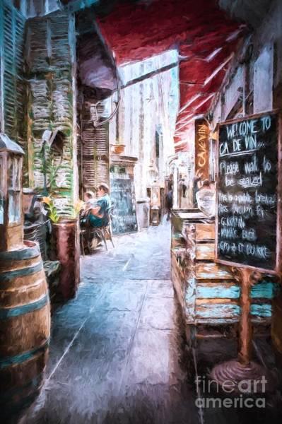 Photograph - Ca De Vin,   Melbourne, Australia  Ar1 by Ray Warren