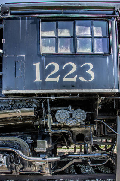 Photograph - Cab Of The Pere Marquette Railroad Steam Locomotive by Randall Nyhof