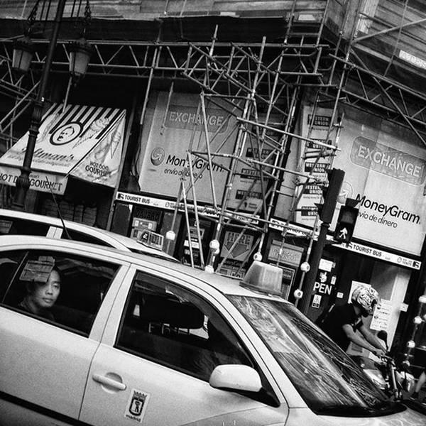 Wall Art - Photograph - Cab Trap  #taxi #cab #people by Rafa Rivas
