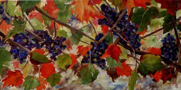 Painting - Cabernet Franc by Monica Ironside