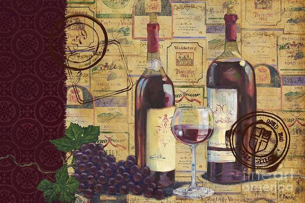 Wall Art - Painting - Cabernet Valley by Paul Brent