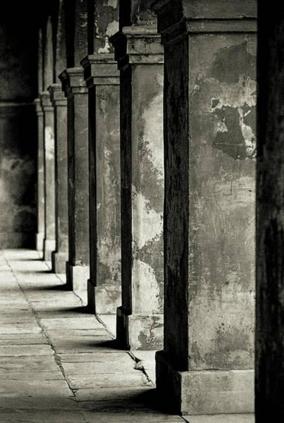 Photograph - Cabildo Columns by KG Thienemann