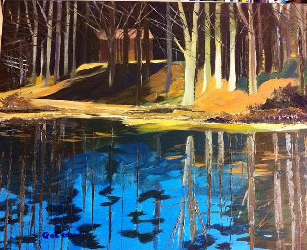Painting - Cabin #2 by Jane Croteau