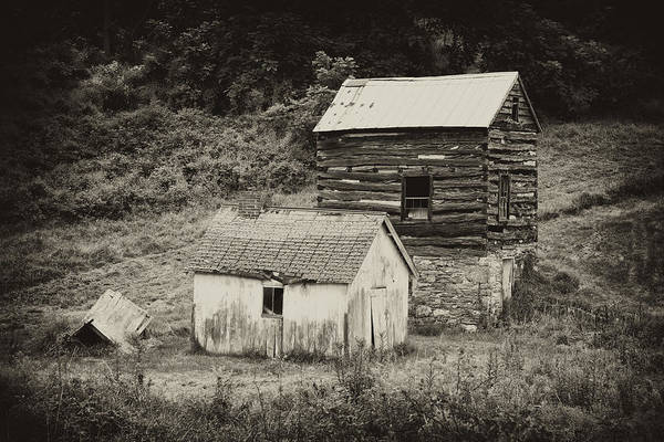 Toolshed Wall Art - Photograph - Cabin And Toolshed by Hugh Smith