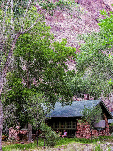 Photograph - Cabin At Phantom Ranch by Pete Hendley