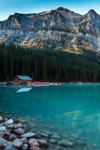 Photograph - Cabin At The Lake, by Pierre Leclerc Photography