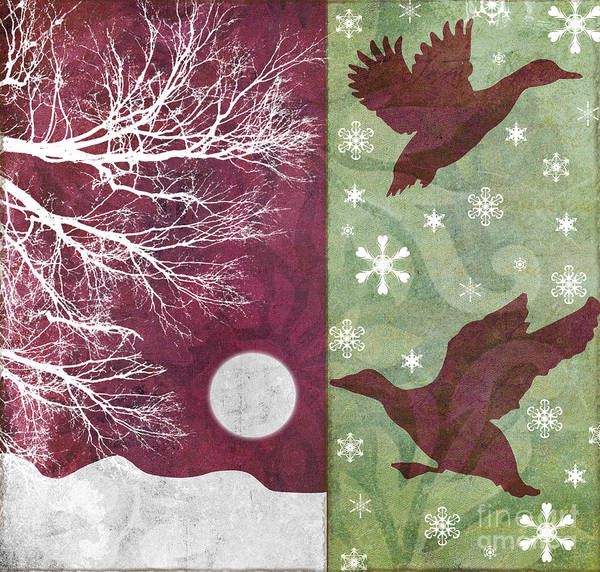 Wall Art - Painting - Cabin Christmas Iv by Mindy Sommers