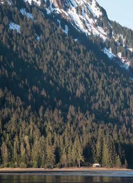 Photograph - Cabin In Mountain Shadow by Ian Johnson