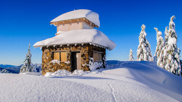 Wall Art - Photograph - Cabin In The Snow by Lincoln Weaver