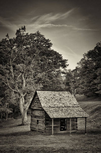 Photograph - Cabin On The Blue Ridge Parkway - 11 by Joye Ardyn Durham