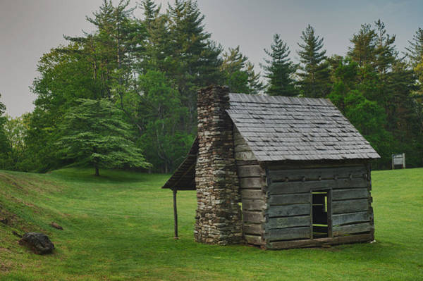 Photograph - Cabin On The Blue Ridge Parkway - 13 by Joye Ardyn Durham