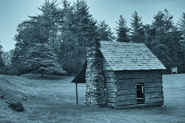 Photograph - Cabin On The Blue Ridge Parkway - 14 by Joye Ardyn Durham