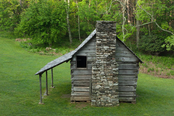 Photograph - Cabin On The Blue Ridge Parkway - 16 by Joye Ardyn Durham