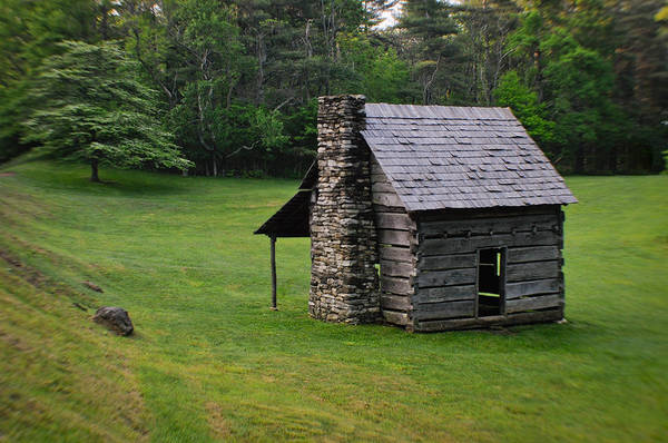 Photograph - Cabin On The Blue Ridge Parkway - 3 by Joye Ardyn Durham