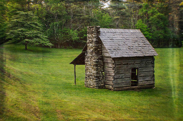 Photograph - Cabin On The Blue Ridge Parkway - 4 by Joye Ardyn Durham